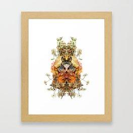 Floril Framed Art Print