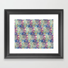 Pattern fantasy Framed Art Print