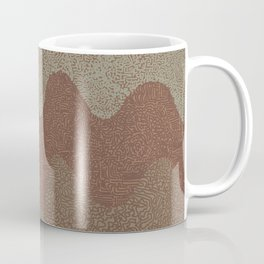 Under the Influence (Marimekko Curves) Putty in Your Hands Coffee Mug