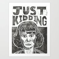 snl Art Prints featuring Judy Grimes by Peter Dunne