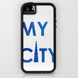 MyCity-Delhi-BlueB iPhone Case