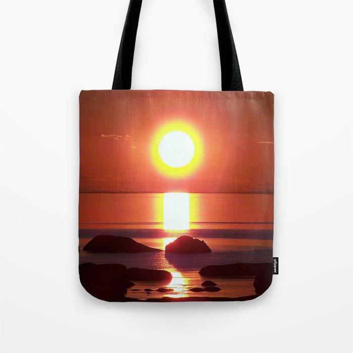 Halo around the Sun Tote Bag
