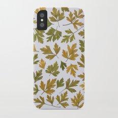 Parsley Autumn Slim Case iPhone X