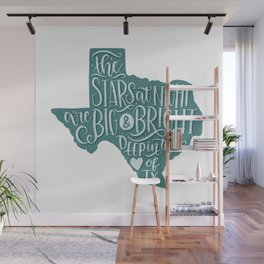 Heart of Texas Wall Mural