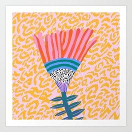 Radicallia Flower Art Print