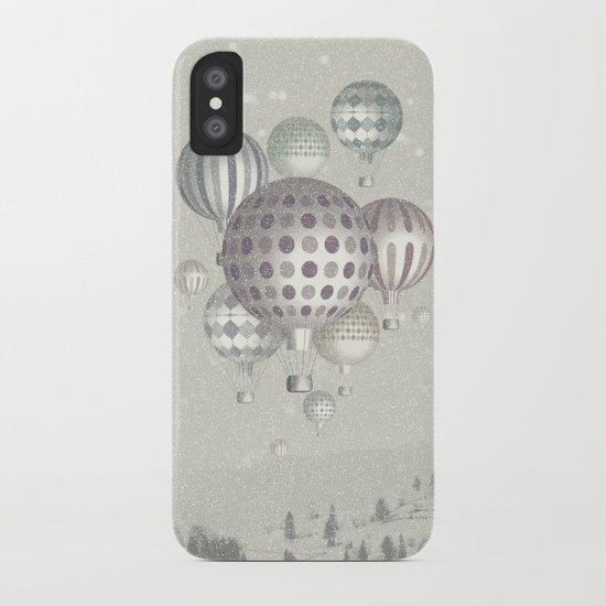 Winter Dreamflight iPhone Case
