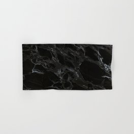 Black marble Hand & Bath Towel