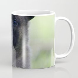 A yellow Shepherd puppy Spok Coffee Mug