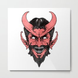 Handsome Devil Metal Print