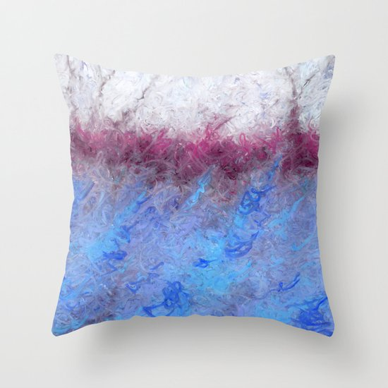 The Day's Deal With The Coming Night II Throw Pillow