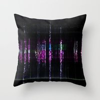 cello Throw Pillows featuring cello & chime by Max Rubenacker