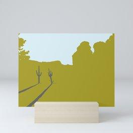 Two Cacti Mini Art Print