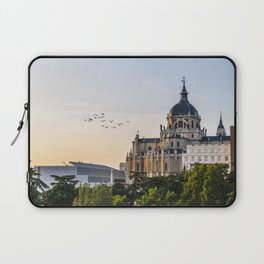 Almudena cathedral of Madrid Laptop Sleeve