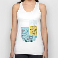 jamaica Tank Tops featuring J for Jamaica by Maksim Scmbrja