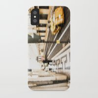 street iPhone & iPod Cases featuring Street by Sébastien BOUVIER