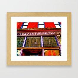 Saint Elmo's Framed Art Print