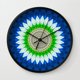 mandala11 Wall Clock