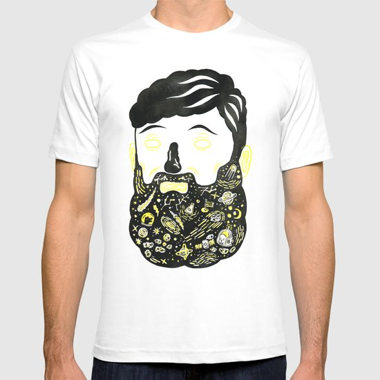 Space Beard Guy T-shirt