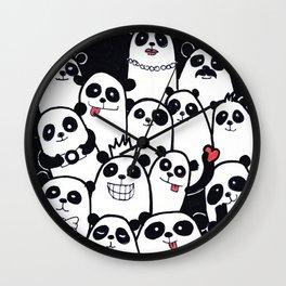Lots of Panda Wall Clock