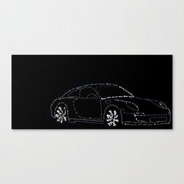 Porsche Carrera4s Canvas Print