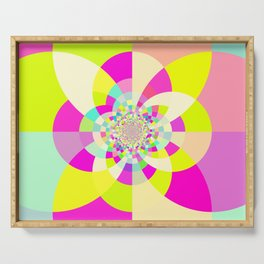 Bright & Pastel Kaleidoscope Serving Tray