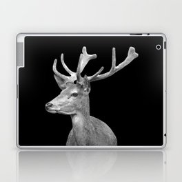 Deer Black Laptop & iPad Skin