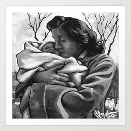 November's Miracle Art Print