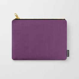 Palatinate Purple - solid color Carry-All Pouch