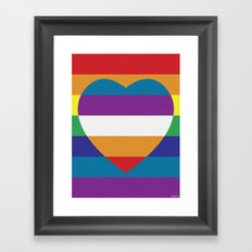 LOVEBOW Framed Art Print