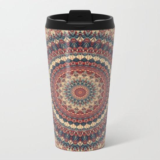 Mandala 595 Metal Travel Mug