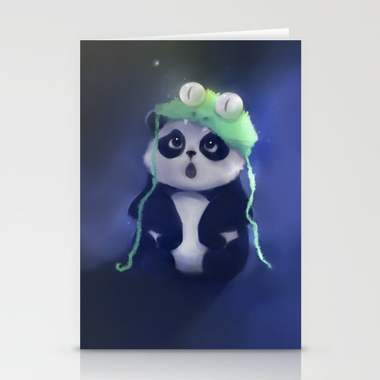 cute absurd Stationery Cards