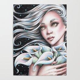 Calla Lily Fairy Poster