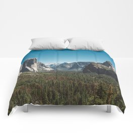 Tunnel View, Yosemite National Park V Comforters