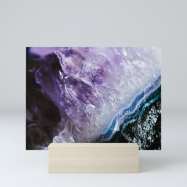 Amathyst Crystal Mini Art Print