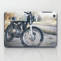 cafe racer iPad Cases featuring Cafe Racer by Joey Gessner