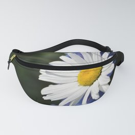 White Daisy Flower Loves Me Loves Me Not Fanny Pack