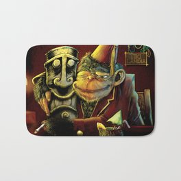 Last Call At Tikilandia Bath Mat