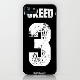 7 Deadly sins - Greed iPhone Case