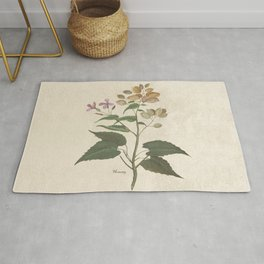 Honesty - botanical Rug