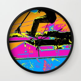 High-Flyin' Scooter Champ Wall Clock
