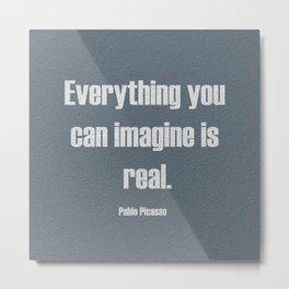 Just Imagine Metal Print