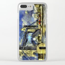 Tower Bridge and the Waverley Art Clear iPhone Case