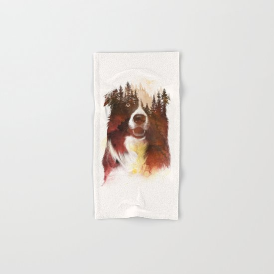 One night in the forest Hand & Bath Towel