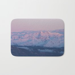 Perfect sunrise in South Tyrol - Landscape and Nature Photography Bath Mat