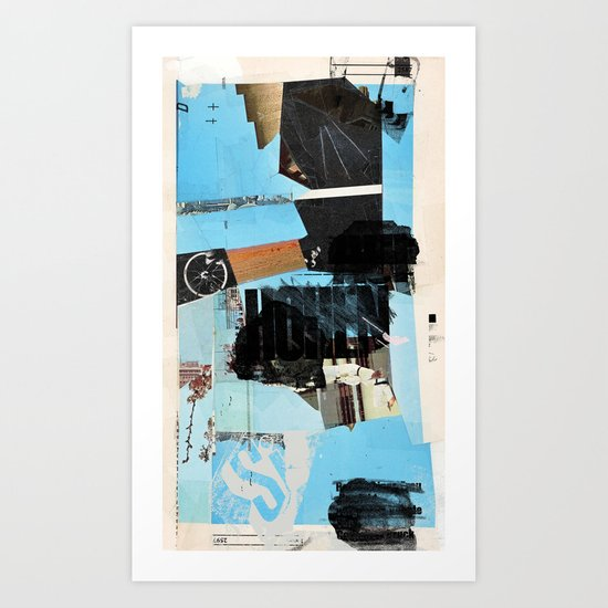 Fuzzy-Set Art Print