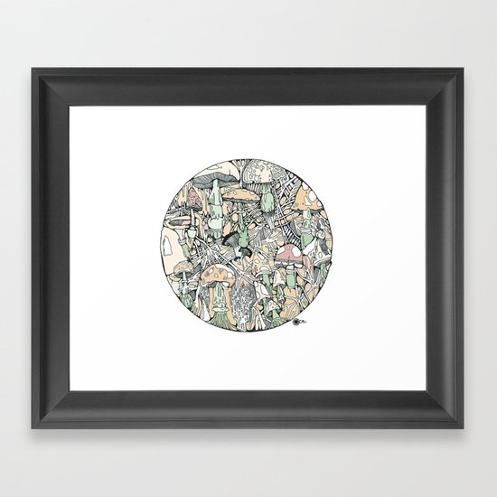 mushaboom Framed Art Print