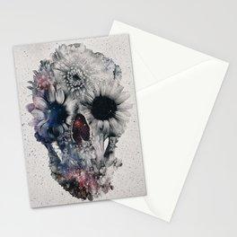 Floral Skull 2 Stationery Cards