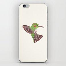 The Green Hummingbird iPhone & iPod Skin