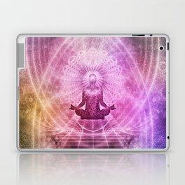 Spiritual Yoga Meditation Zen Colorful Laptop & iPad Skin