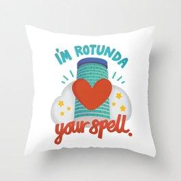 I'm Rotunda your spell Throw Pillow